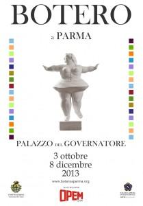 ManifestO Botero a Parma