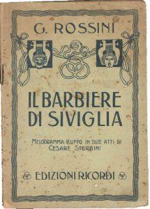 % Nausica Opera IL BARBIERE DI SIVIGLIA Nausica Opera