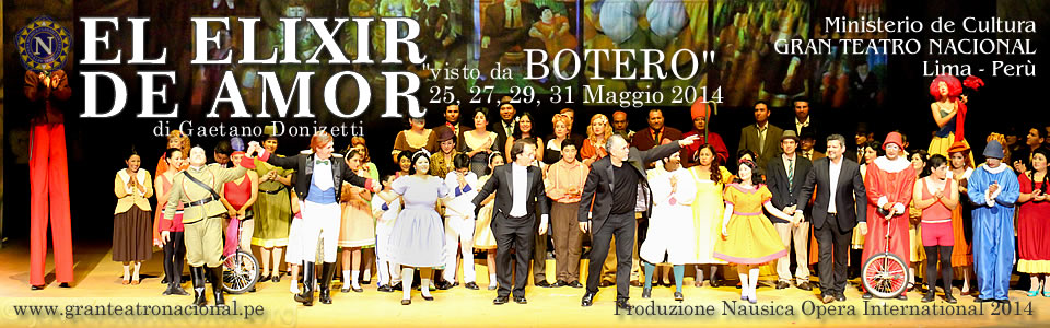 SLIDE2 - Elisir D'Amore visto da BOTERO - Lima 2014 by Nausica Opera International