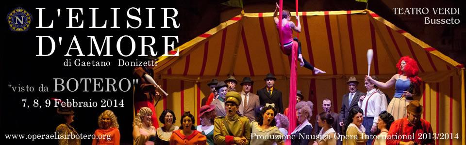 SLIDE3 - Elisir D'Amore visto da BOTERO - Busseto 2014 by Nausica Opera International