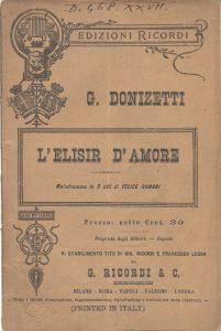% Nausica Opera L'ELISIR D'AMORE Nausica Opera