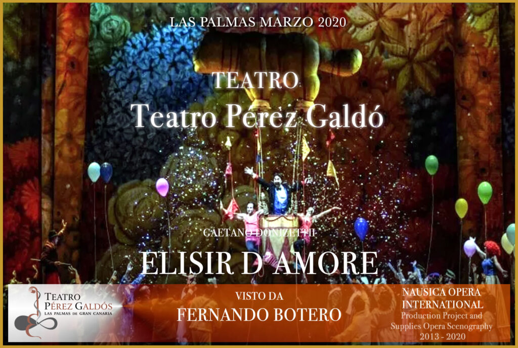 % Nausica Opera ELISIR al Teatro Pérez Galdó Nausica Opera