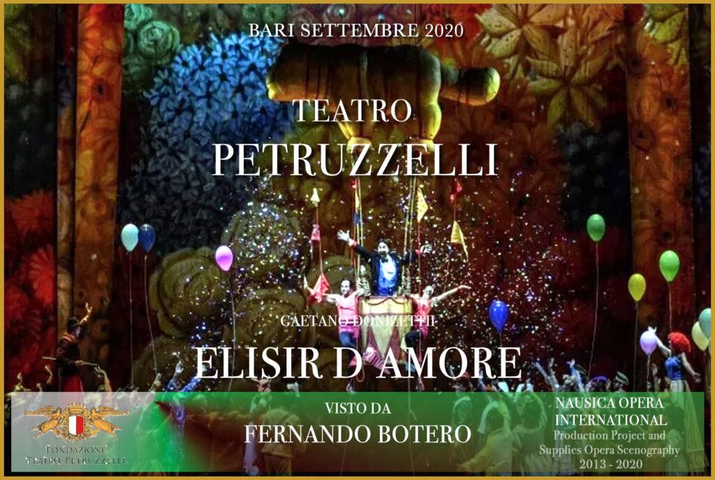 % Nausica Opera ELISIR AL PETRUZZELLI Nausica Opera