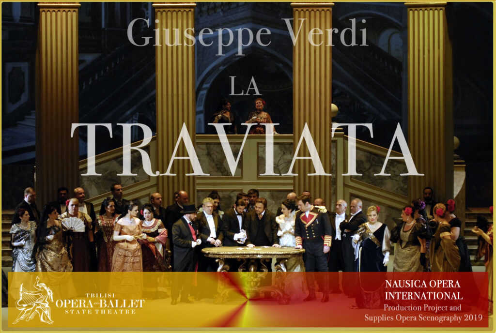 % Nausica Opera LA TRAVIATA A TBILISI Nausica Opera