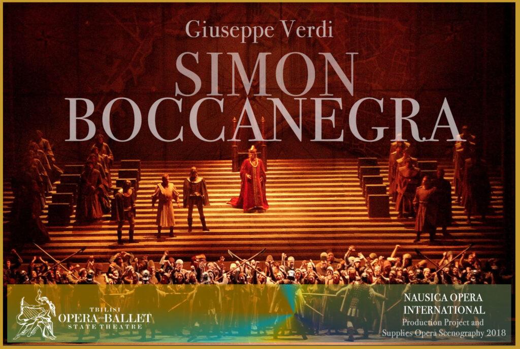 % Nausica Opera SIMON BOCCANEGRA Nausica Opera