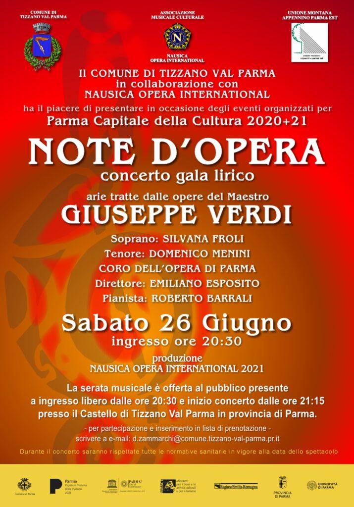 % Nausica Opera NOTE D'OPERA 2021 Nausica Opera